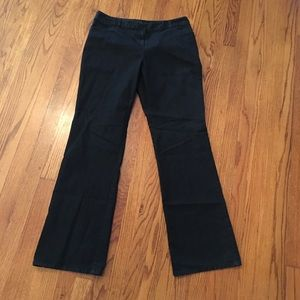 J. Jill black wash pants